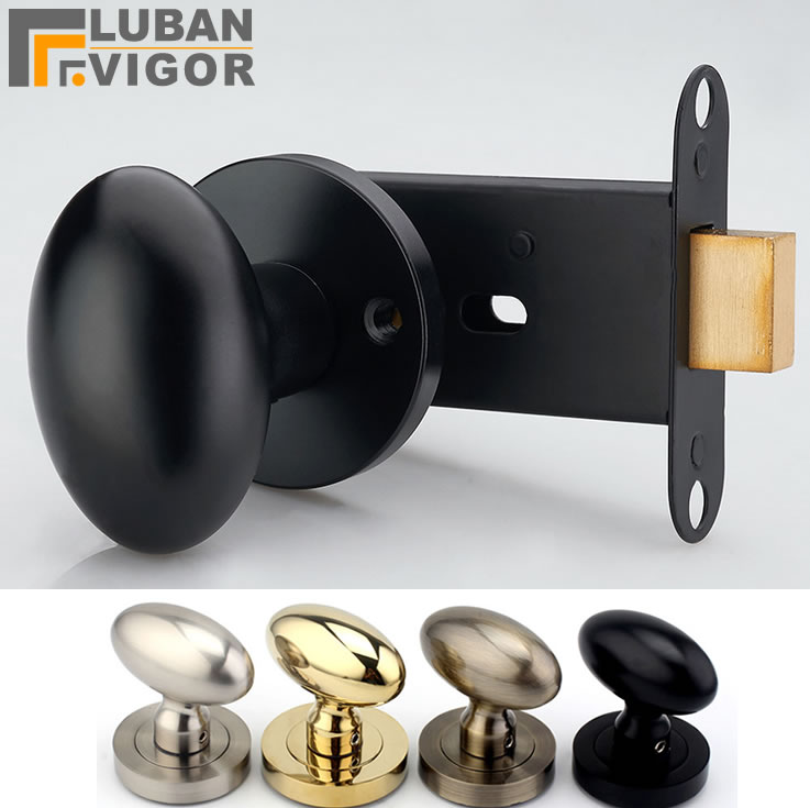 Beautiful invisible locks, Duck egg shape,4colors,backdrop invisible handle,Installed on one side of the door,No key,door lock