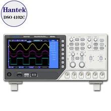 Hantek DSO4102C 2 Channel Digital Oscilloscope 1 Channel Arbitrary/Function Waveform Generator
