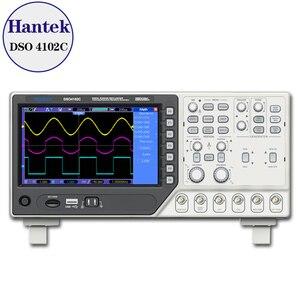 Image 1 - Hantek DSO4102C 2 kanallı dijital osiloskop 1 kanal Arbitrary/fonksiyon dalga jeneratörü