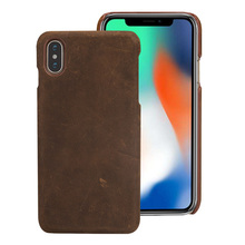Retro crazy horse skin Genuine Leather Half pack phone case For One plus 7 Pro 7 6 6T Business protective case For 5T 5  3 2 2 in 1 detachable inner tpu crazy horse leather shell for iphone 7 plus 5 5 green