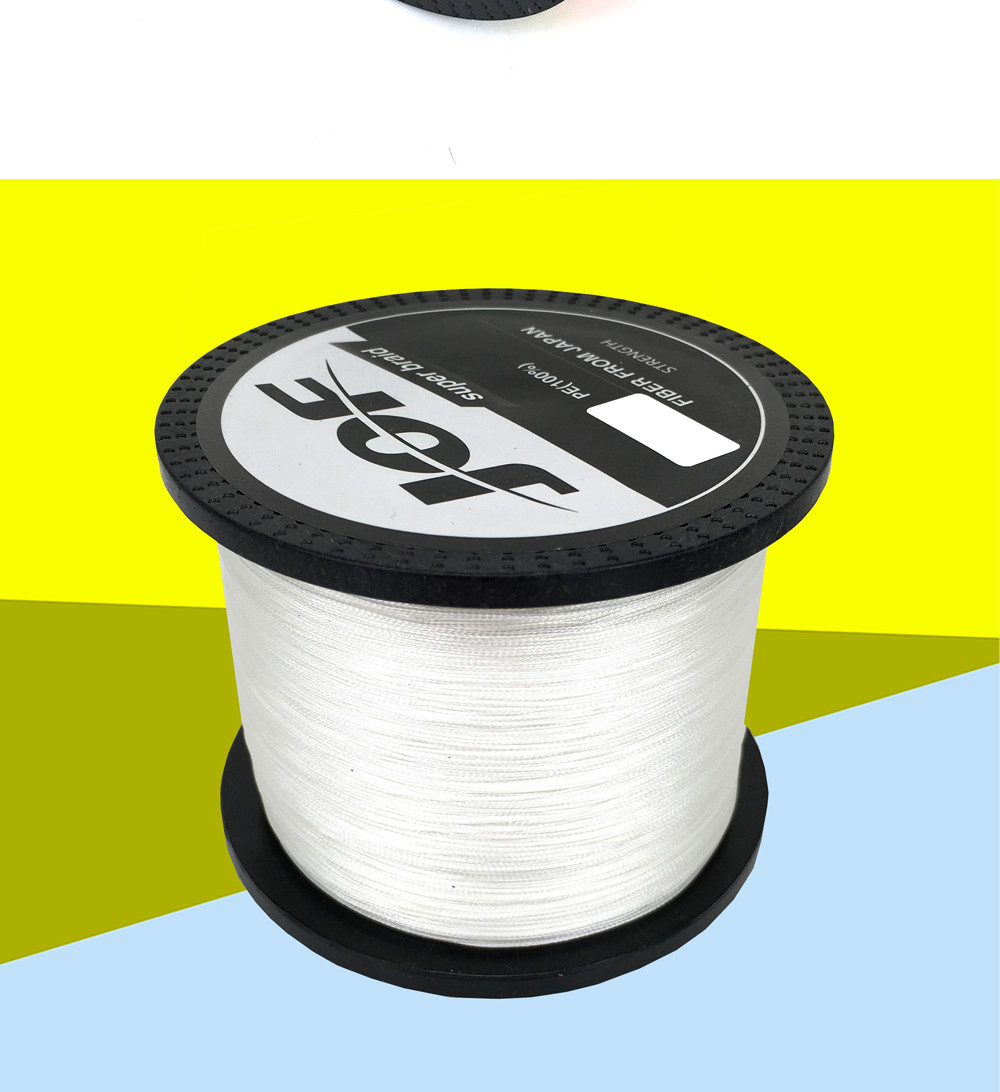 1000M Multifilament Fishing Line 100% PE Braided 4 threads fly fishing line for carping fishing  30 40 50 60 80 100lb 5