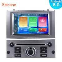 Seicane Android 8.0 71Din Car Radio Stereo GPS Navigation Multimedia Player For Peugeot 407 2004 2005 2006 2007 2008 2009 2010