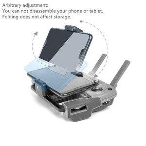 Image 5 - Металлический держатель для пульта дистанционного управления DJI, держатель для планшета, опорный лоток для телефона DJI MAVIC Air 2 /PRO /Air /Mavic 2 /Mavic MINI /Spark