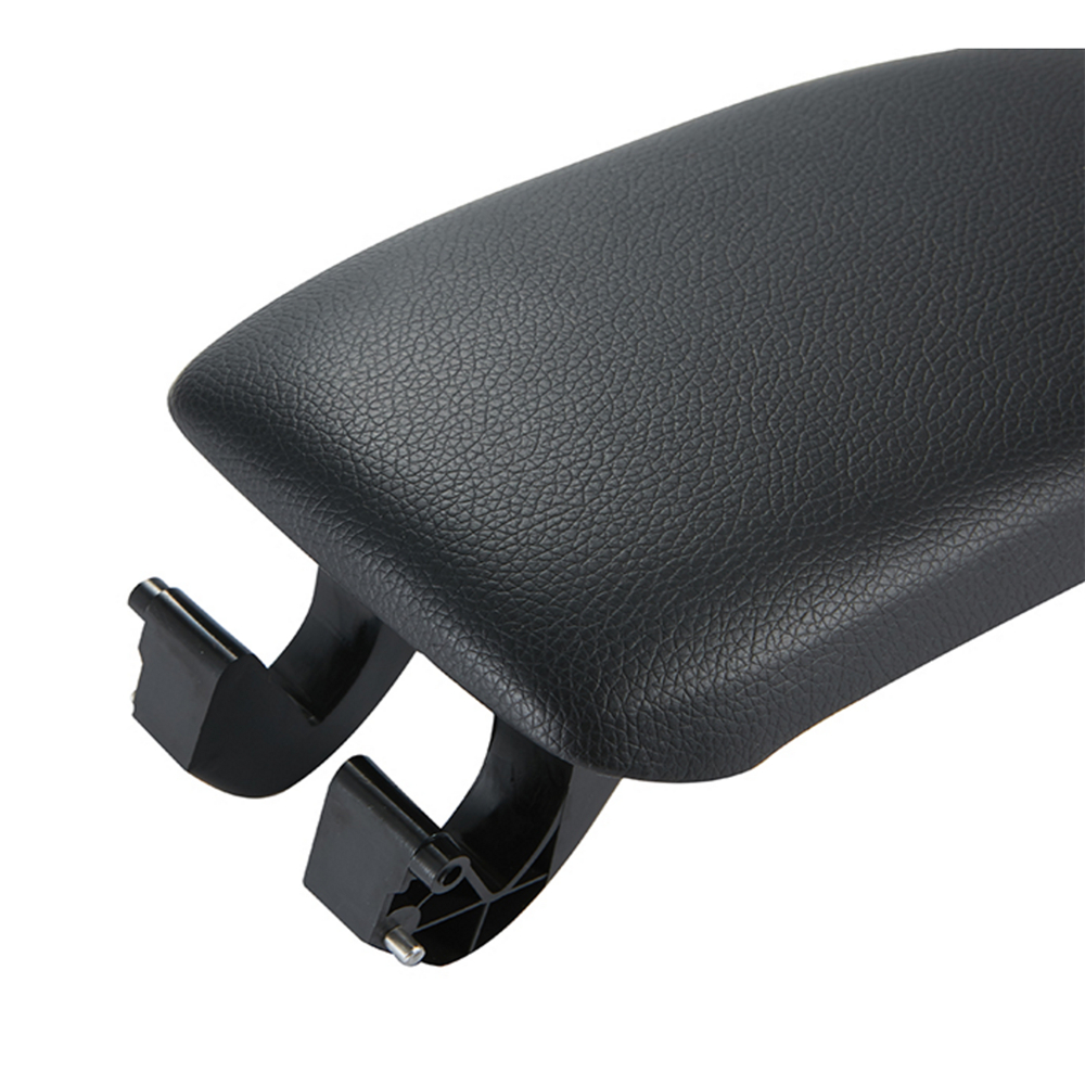 Image 5 - Leather Car Armrest Latch Cover Center Console Armrest Cover Car Black Storage Box  Lid Cover for Audi A3 8P/A5 Car accessories-in Armrests from Automobiles & Motorcycles