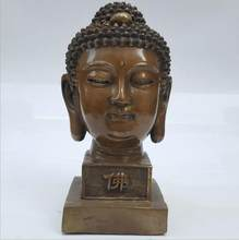 SCY 1002+++Copper Buddha head ornaments(China)
