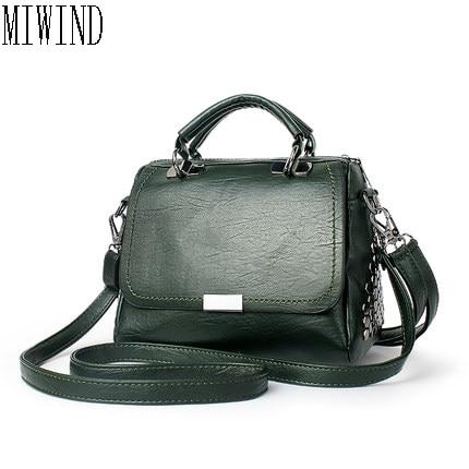 Women Messenger Bag Simple Designer PU Leather Crossbody Bag Clutch font b Bolsa b font font