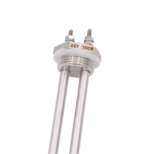 Image 5 - Forma de U 24 v 300 w Plugue do Aquecedor Tubular Aquecedor de Imersão Elemento de Parafuso de Aço Inoxidável com Rosca BSP 1 Polegada