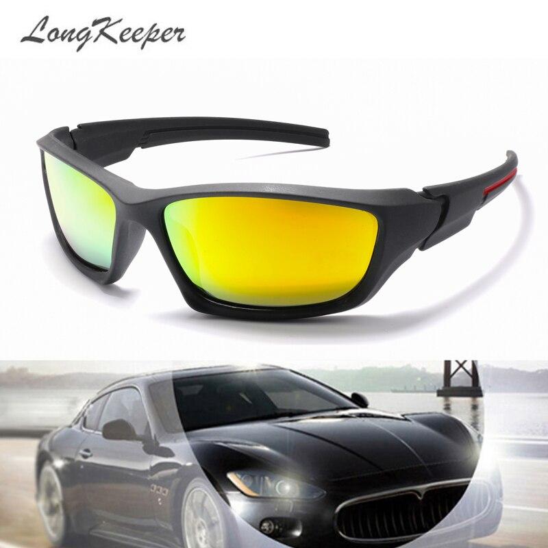 LongKeeper Polarized Sunglasses Men Night Vision Driving Sports Sun Glasses Women Vacation Luxury Brand Design Gafas De Sol