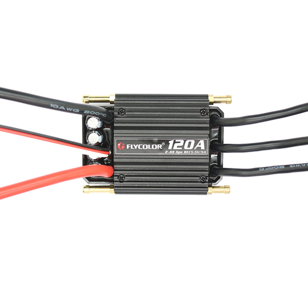 Image 2 - Charging Flycolor Waterproof 120A 2 6S Brushless ESC With BEC Speed Controll For RC Boat convenient and practical accessories-in Parts & Accessories from Toys & Hobbies