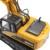 Excavadora RC 15 CH 2.4G Eléctrico de Control Remoto de Aleación Modelo de Camión Excavadora de Carga USB Led Parpadeante Luz y Sonido juguete