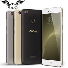 Nouvelle D'origine ZTE Nubia Z11 mini S 4G LTE Mobile Téléphone Octa base 5.2 pouces 4 GB 64 GB Android 6.0 Double SIM 23MP D'empreintes Digitales ID
