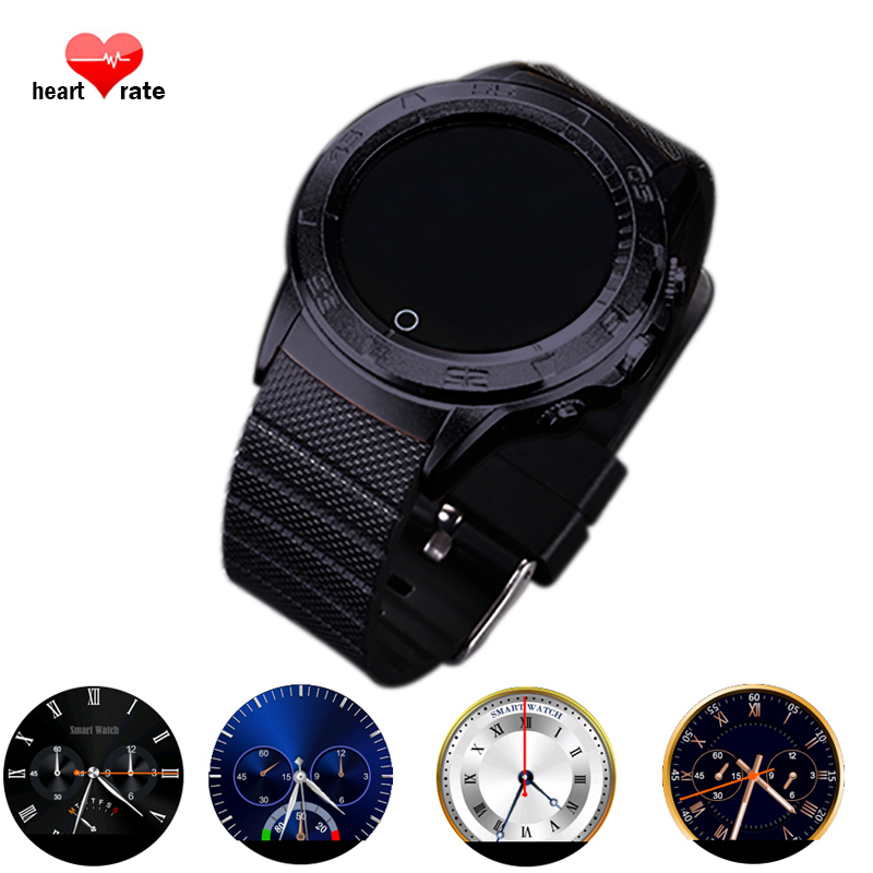 Newest Smartwatch with Heart Rate Pedometer Anti lost camera Bluetooth Reloj Inteligent smart watch for Android