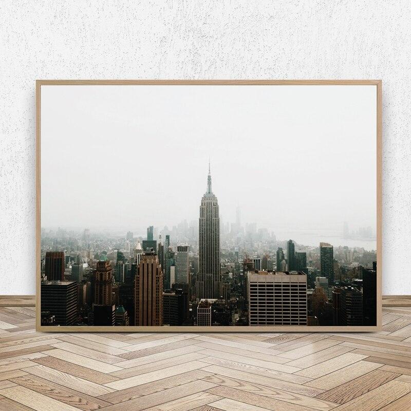 Большой постер нью-йорк