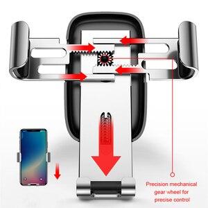 Image 2 - Baseus הכבידה אוניברסלי רכב טלפון מחזיק אוויר Vent עבור iPhone Redmi הערה 7 תמיכה Smartphone קליפ הר מחזיק מעמד