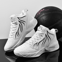 2019 Basketball Shoes Boys Big Shoes Size 36 48 Quality Women Sport Training Shoes Basketball Boots High Basketball Sneakers Men