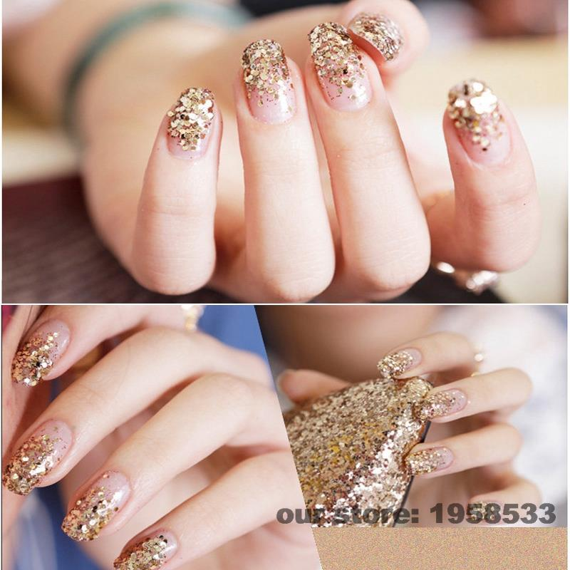 Nail Polish Glitter Tips - Creative Touch