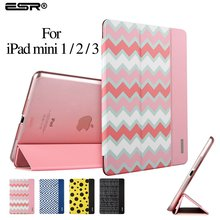 ESR (Ultra Slim Version) Trifold Flip Case Smart Cover Auto Wake Up/Sleep Function] for iPad mini 1/2/3