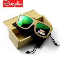 DAOYING Bamboo sunglasses &wood handmade ladies Sunglasses polarized great goods satisfiled men sunglasses LUB104