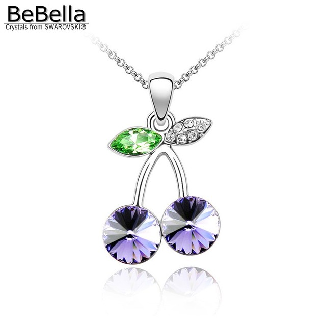 BeBella Red Fruity Cherry Pendant