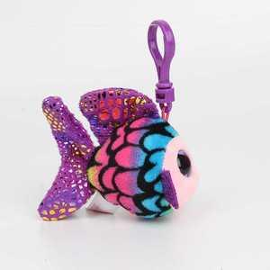 Image 2 - 50 unidades/lotes unicórnio panda Coruja fox Mini brinquedo de Pelúcia de aniversário Brinquedos de Pelúcia Anime bonecas de Presente da corrente chave