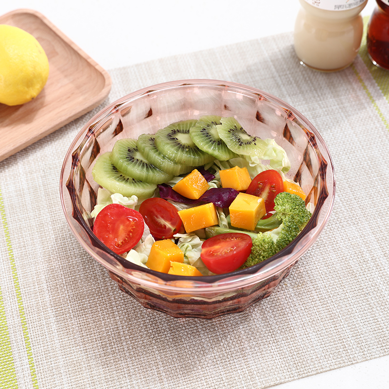 050 3pcs Fashion circular Transparent belt cover hand held sealed fresh keeping storage box food case in Bottles Jars Boxes from Home Garden