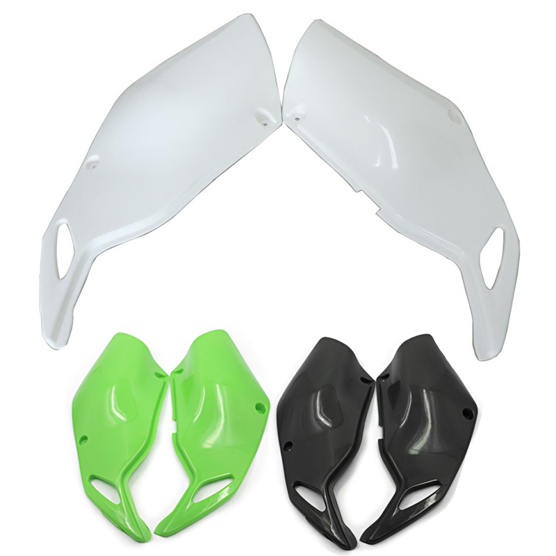 KLX250 ABS Rear Side Panel Fairing Body Cover Frame Guard for Kawasaki KLX 250 1993 2007
