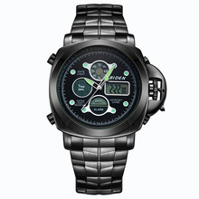 Fashion Mens Sport Watches Analog Digital LED Quartz-Watch Men Waterproof Wrist Watch Male Army Military Clock relogio masculino