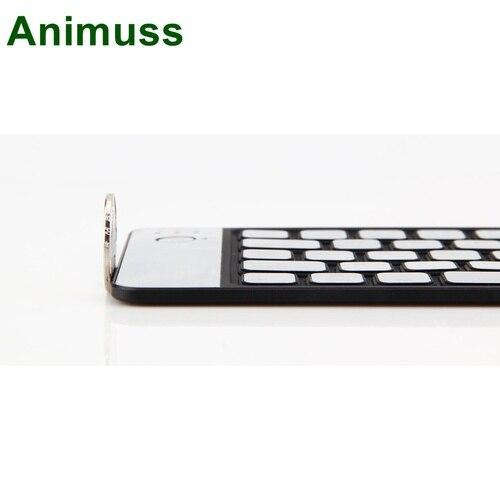 Animuss Bluetooth Keyboard for iPad IOS/Android/Windows Tablet Wireless Keypad Aluminum Foldable Keyboard Ultra Mini Ultra Slim Karachi