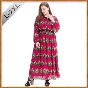 YSTATIVEEOL Plus Size Vintage Women Casual Dress vestidos 907f6406ec7c