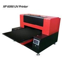 XP 6090 автоматический uv принтер планшетный принтеры с 2 печатающей головки большой формат универсальный струйный принтер Макс печати 600x900 мм