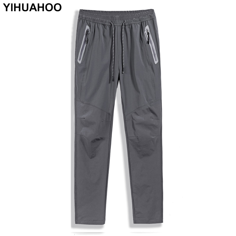 YIHUAHOO Plus Size 6XL 7XL 8XL Spring Jogger Pants Men Slim Fit Casual Track Pants Brand Trousers Male Sweatpants  XYN-9920(China)