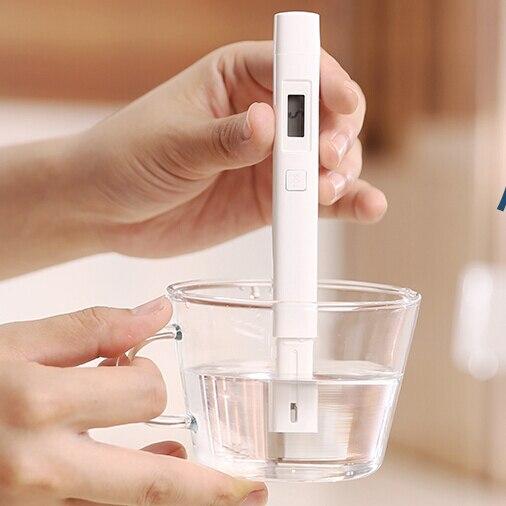 شاومي TDS متر فاحص المحمولة كشف القلم اختبار جودة المياه اختبار الجودة القلم EC TDS 3 فاحص متر الرقمية