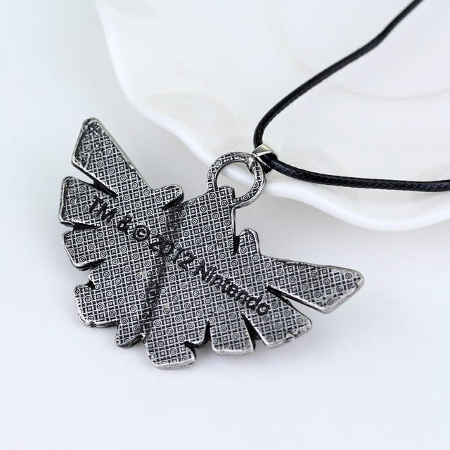 COOL The Legend of Zelda Triforce Vintage  Alloy Pendent Charm Necklace Rope Leather High Quality Gift Game Jewelry Accessory