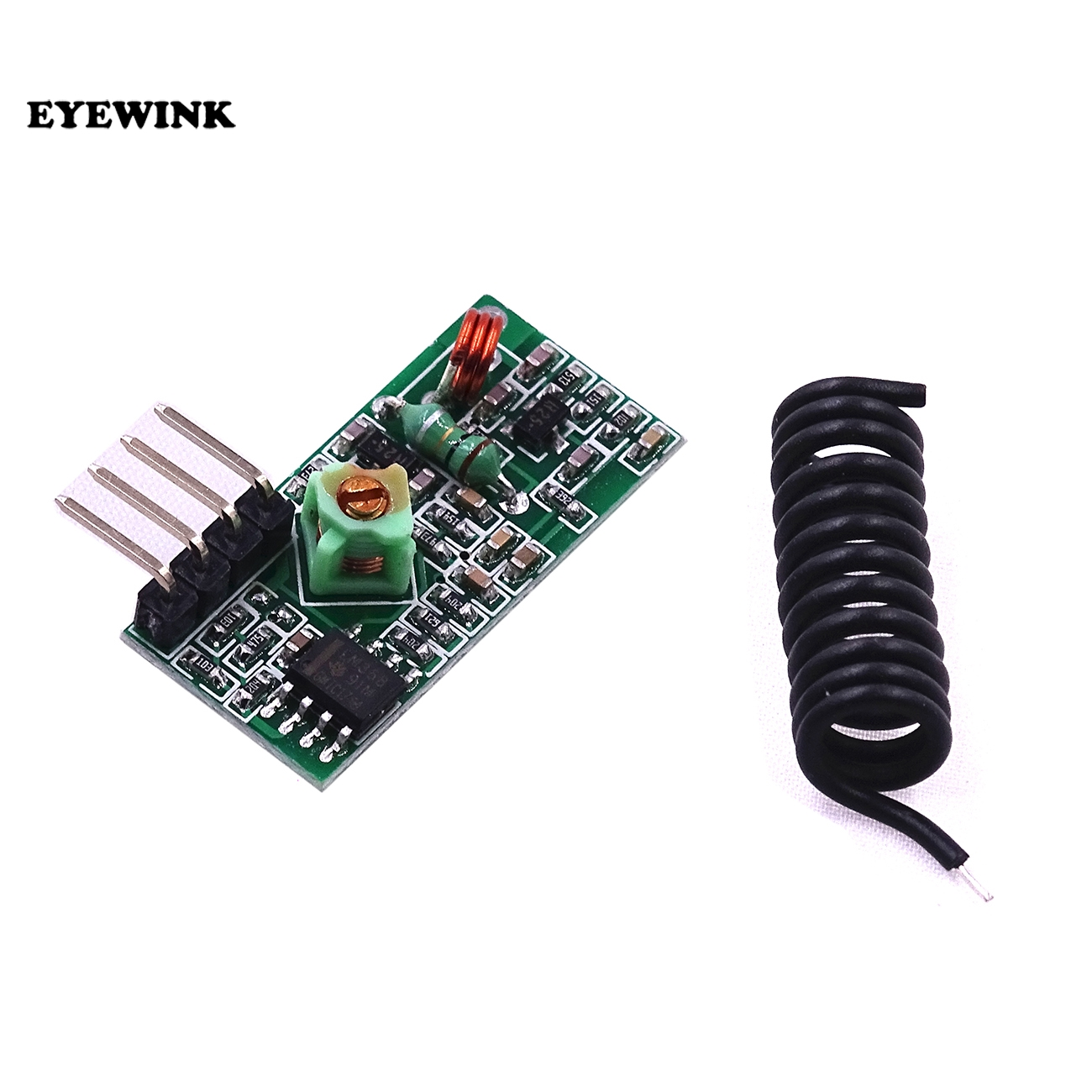 100pcs Lot 315mhz 433mhz High Frequency Amplitude Modulation Super Circuit Regeneration Wireless Receiving Module In Integrated Circuits From Electronic Components
