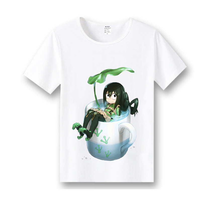 Coshome Boku No Hero Academia T-shirts Cosplay Costumes My Hero Academia T shirts Izuku Midoriya Men Women Short Sleeves Tops (4)