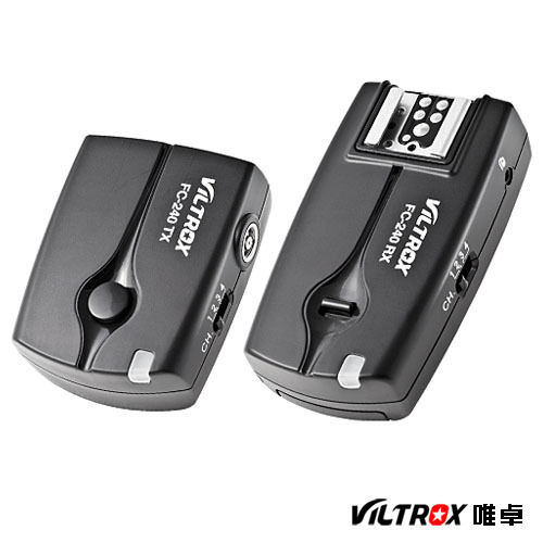 3in1 2.4GHz Wireless Flash Trigger FC-240 with N3 Cable for Nikon D90 D3100 D5000 D5100 D7000 Camera Flash Trigger viltrox fc 16 off camera flash trigger w light control trigger black