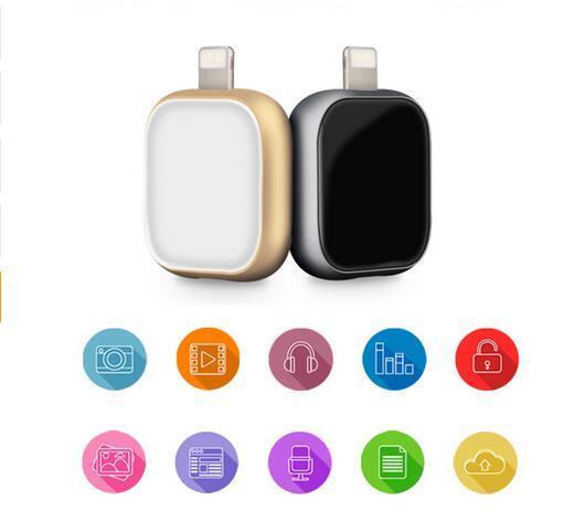 Mais novo produto usb flash drive pen drive para apple para iphone 5/5s/6/6 s/plus/7 ipad pendrive de armazenamento externo frete grátis otg!