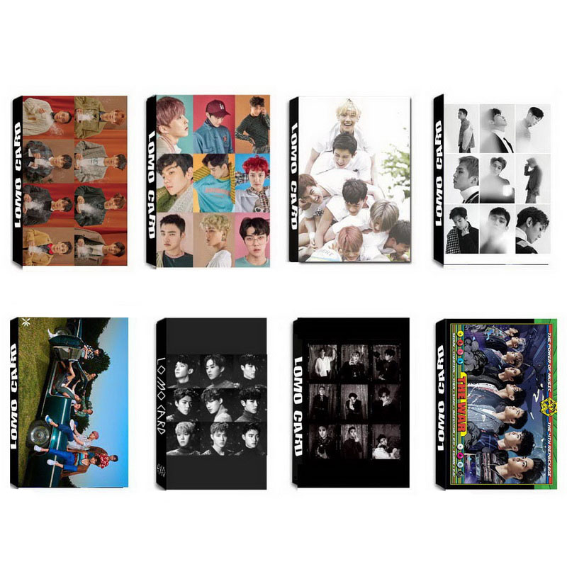 Beads & Jewelry Making Creative Yanzixg Kpop Exo Album Kai Self Made Paper Lomo Card Photo Card Poster Hd Photocard Fans Gift Collection Jewelry Findings & Components