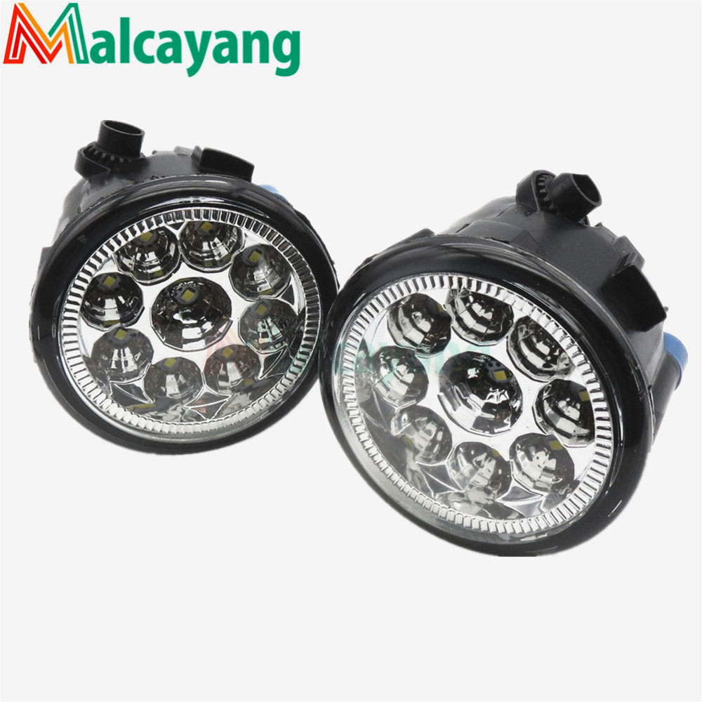 цены  1 SET (Left + right) Car Styling Front LED Fog Lamps Fog Lights 26150-8990B For NISSAN PATROL 3/III Y62 2010-2015