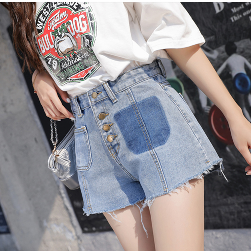 Spring Summer Plus Size Korean Loose Denim Girl Thin Short Jeans Pants Women