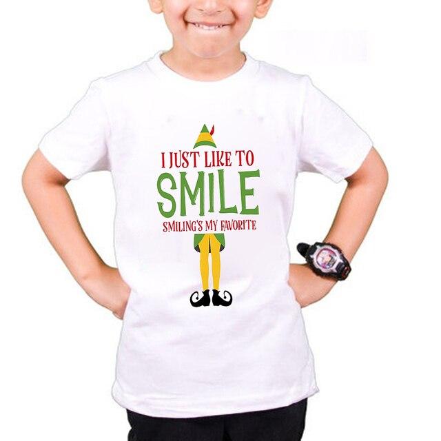 3d7954de59f9 Personalised Christmas Gift Tees Funny Santa Claus Clown Print T-Shirt Boys  Festival Clothing T Shirt Kids Girls Top ETM-R2104