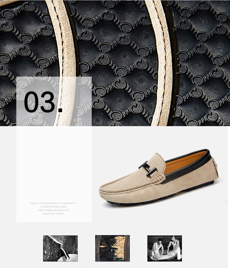 Men's Top Brand Fashion Casual Soft Loafers Suede Boat Shoes Male Footwear Adult Drivings Summer Moccasins Hommes Plus Size 11 56
