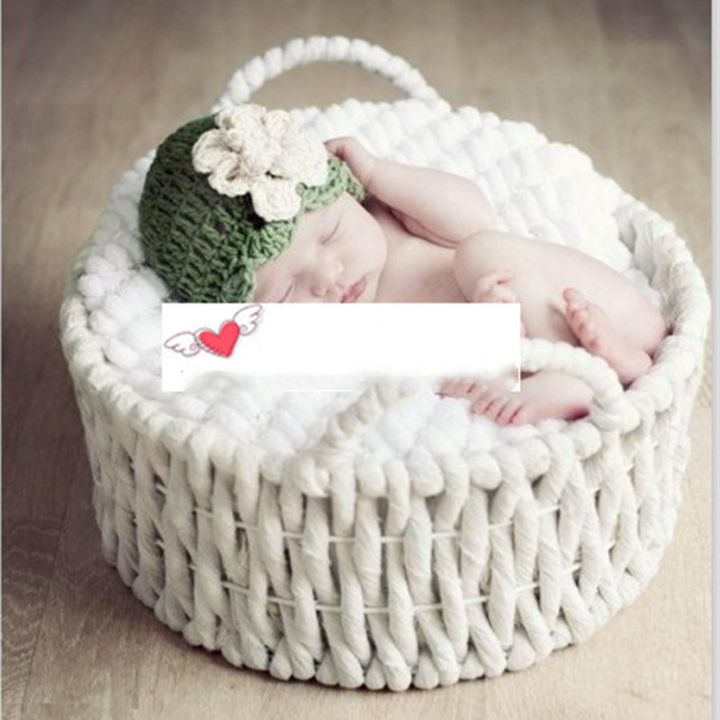 New Newborn Photography Props Baby Photography Supplies Studio Props Children Basket Hundred Days Basket Baby Basket Kids Toys