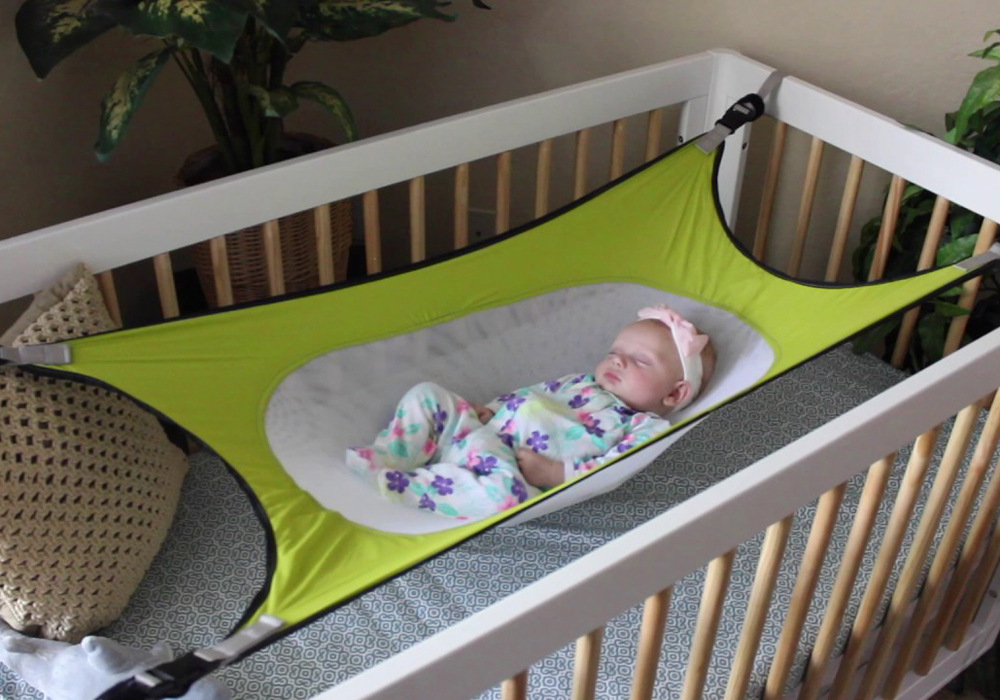 Portable Detachable Baby Hammock Safe Cradle Newborns Sleeping Bed For Kid Home Outdoor Camping Toddler Hanging Cot Crib Swing