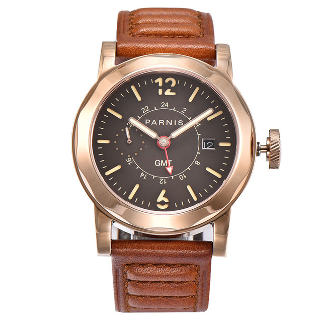 Parnis Mens Auto Date Water Resistant Power Reserve Business Seperate Second Dial Automatic Self Wind Mechanical Wrist WatchesParnis Mens Auto Date Water Resistant Power Reserve Business Seperate Second Dial Automatic Self Wind Mechanical Wrist Watches