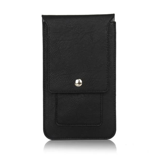 Διπλές τσέπες Δερμάτινη θήκη με θήκη - Ανταλλακτικά και αξεσουάρ κινητών τηλεφώνων - Φωτογραφία 2
