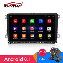 9 Inch Android 5.1 Car PC GPS Video Player For VW/Volkswagen/TOURAN/POLO/PASSAT/Golf/Skoda/Seat CANBUS Wifi Navigation Radio FM free shipping android 9 inch car dvd player for vw volkswagen polo passat golf touran sharan quad core usb gps navigation radio