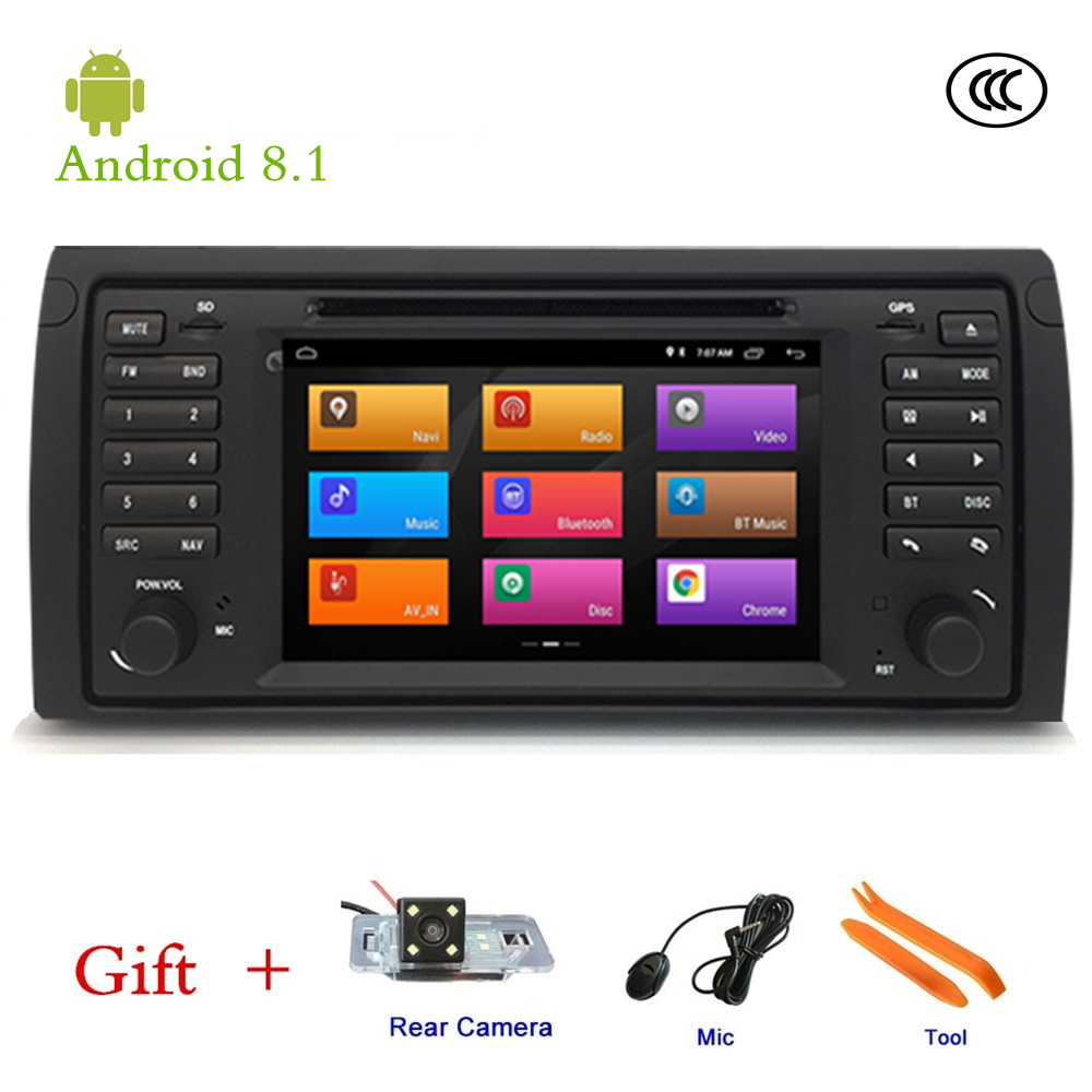 Lecteur dvd DE VOITURE Pour BMW E53 X5 M5, Android 8.1 navigation gps Stéréo IPS écran VOITURE lecteur multimédia