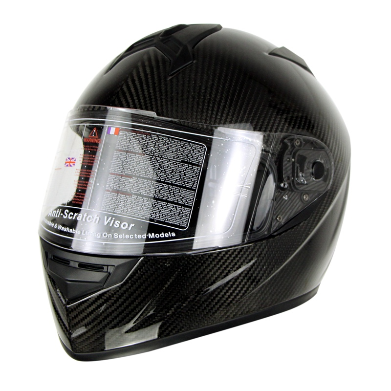 3K Carbonfiber Motorcycle Full Face Casco Moto Steet Racing Flip Up - Accesorios y repuestos para motocicletas