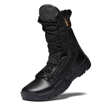 Men Military Tactical Boots Special Force Desert Ankle Combat Boots Safety Outdoor Shoes Plus New Ultralight Army Boot vast wave suede army boot canvas men s military boot male shoes safety motocycle boots combat mens soldier ankle boot tactical 2
